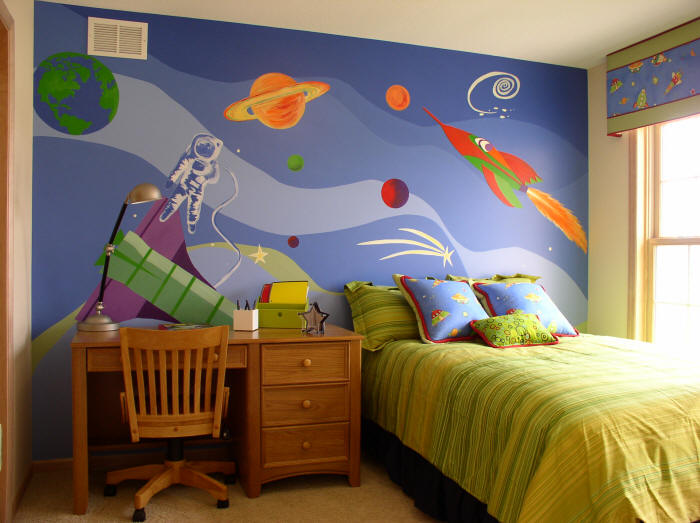 Outer Space Wallpaper For Bedrooms Wallpapersafari
