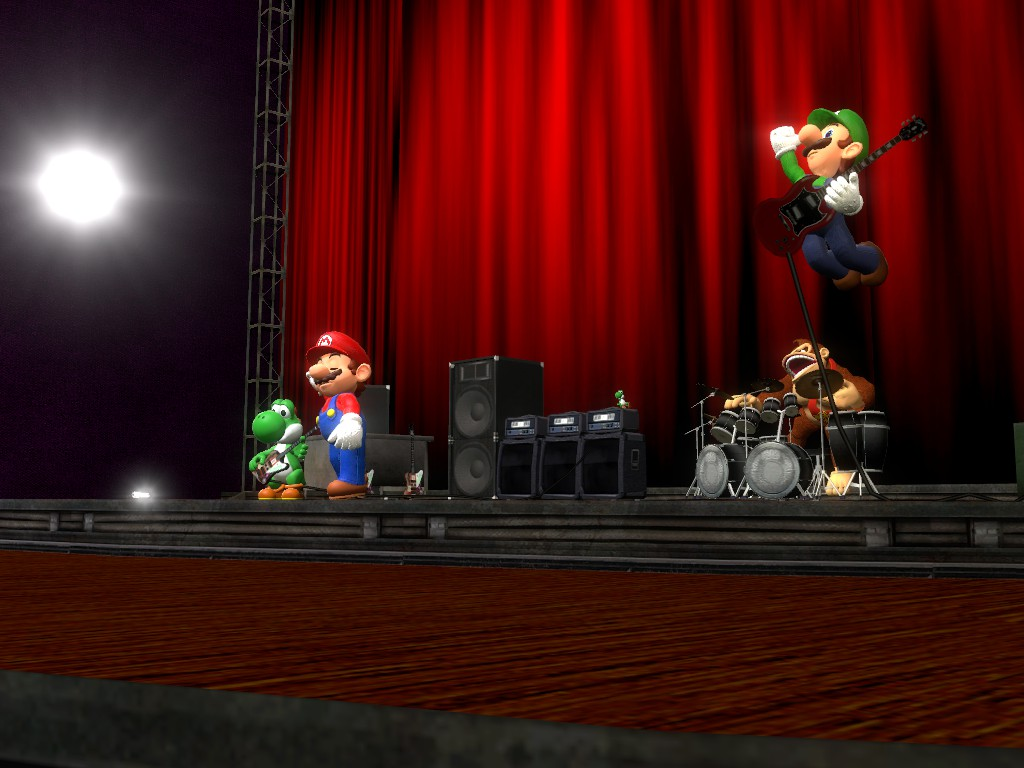 Super Mario Bros Band live again by supergmodbros 1024x768