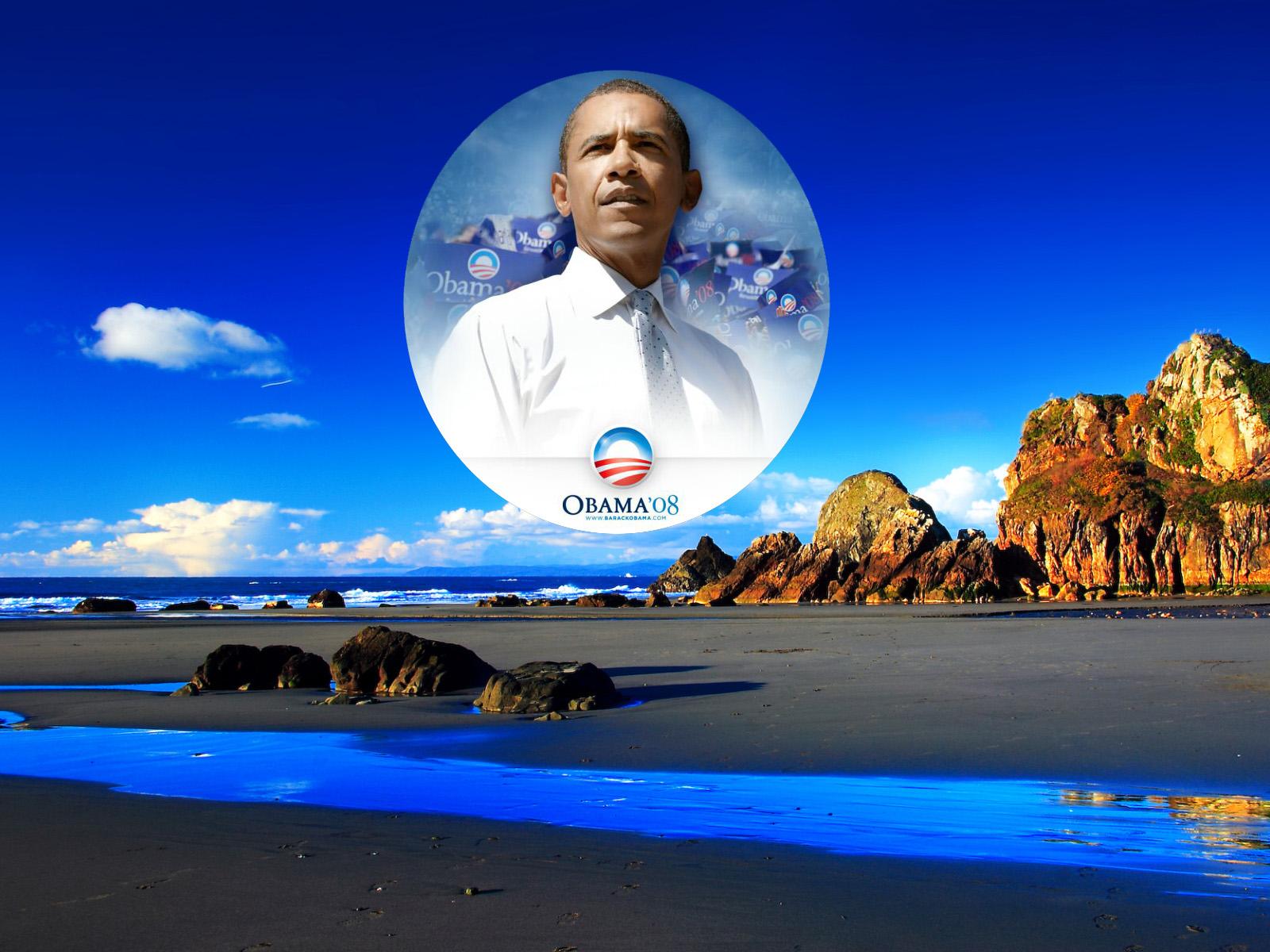 Wallpaper Obama 1600x1200