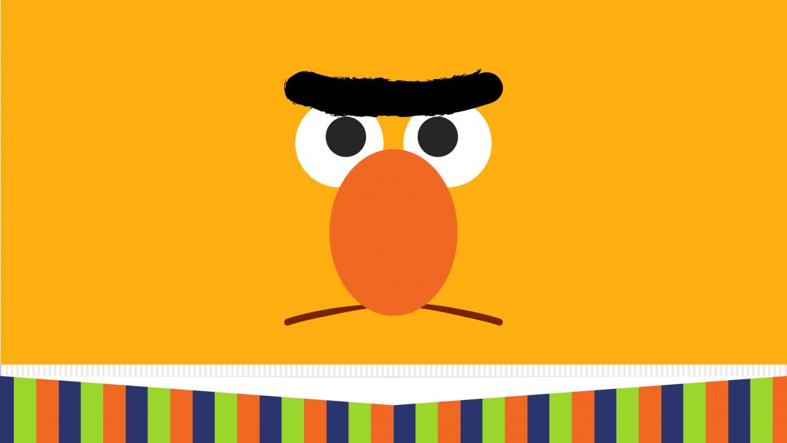 Wallpaper Of Bert From Sesame Street PaperPull 1136x640