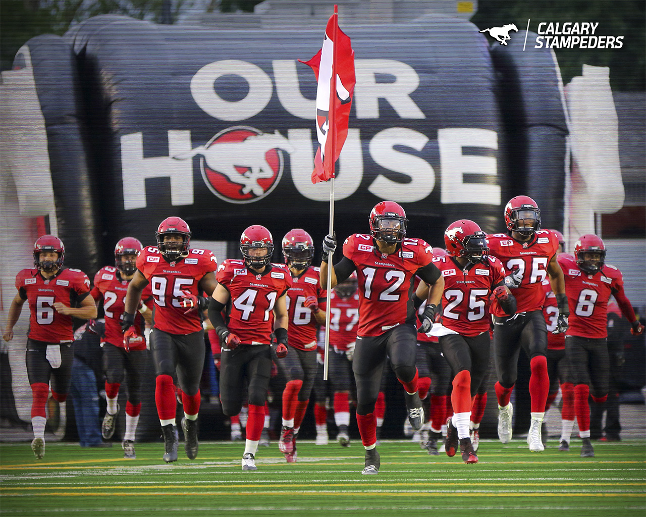 Wallpaper   Calgary Stampeders 1280x1024