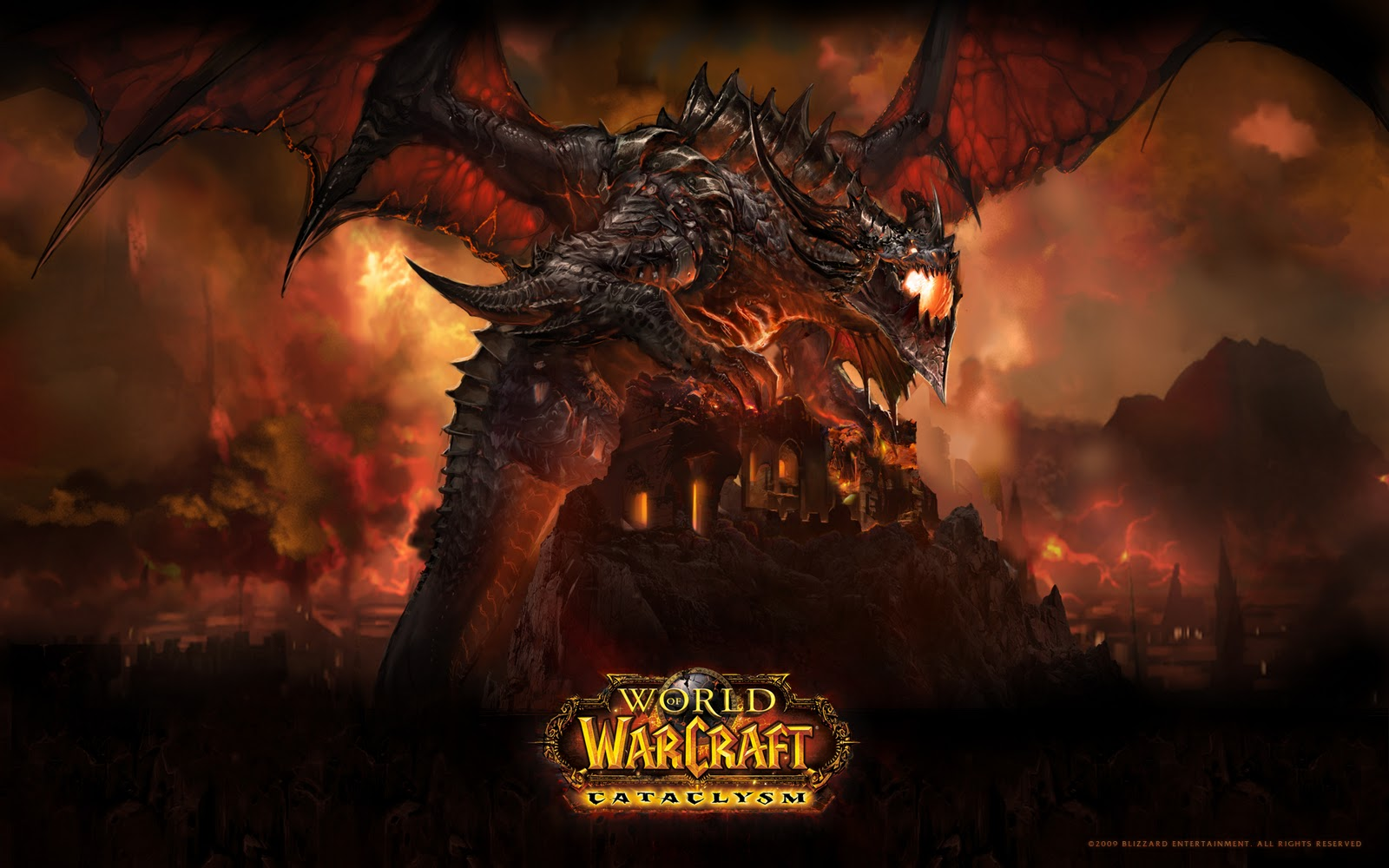 Of WarCraft Cataclysm Dragon HD Wallpapers Epic Desktop Backgrounds 1600x1000