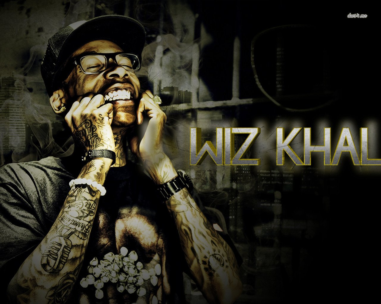 WIZ KHALIFA   1280 800 Wallpaper 1280x1024