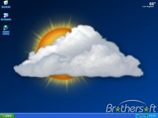 Weather Desktop Wallpaper Screen Saver Weather Desktop Wallpaper 512x384