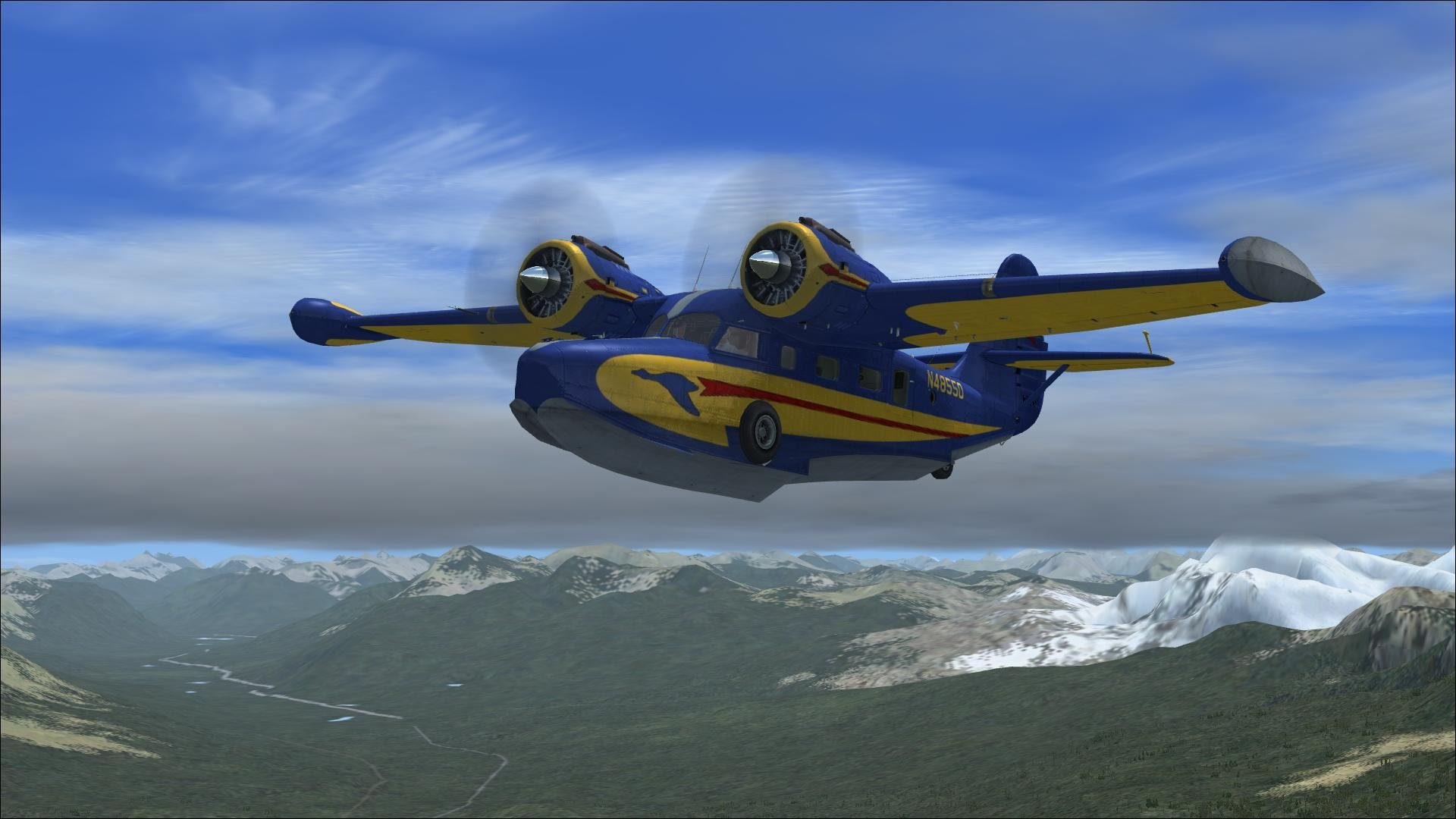 1920x1080 Grumman Goose FSX Wallpaper Download 1920x1080
