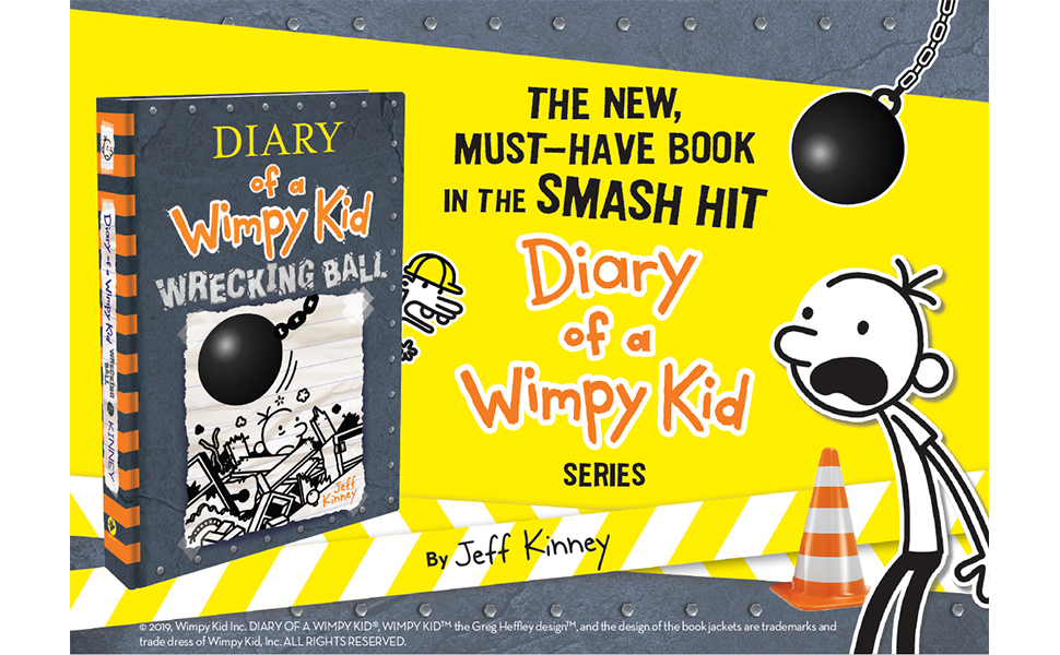 Wrecking Ball Diary of a Wimpy Kid Book 14 Kinney Jeff 970x600