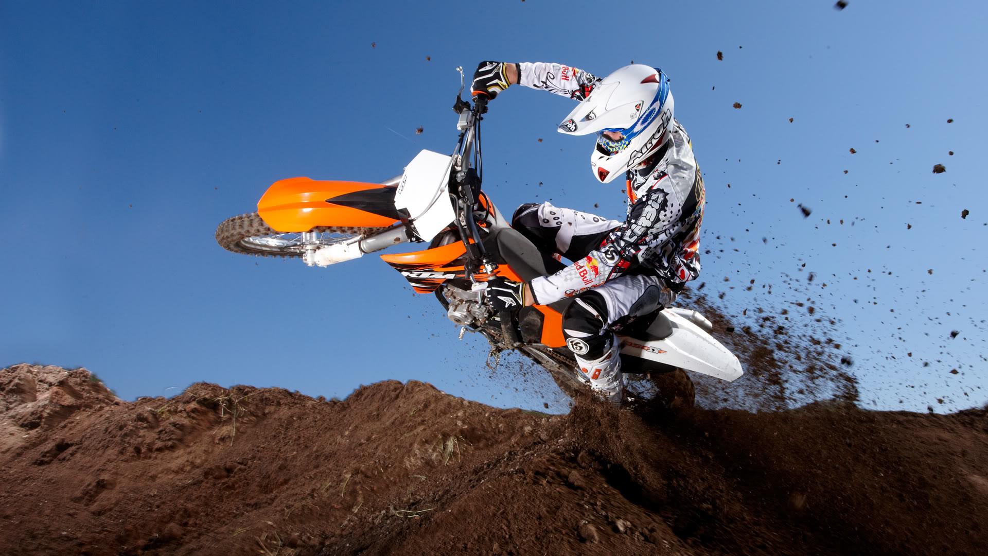 Motorrad HD Hintergrundbilder genial ktm Tapeten motorcross 1920x1080