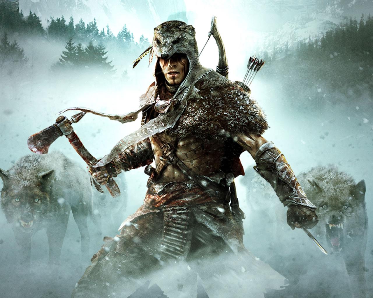 Wallpapers fond decran pour Assassins Creed III La Tyrannie du 1280x1024