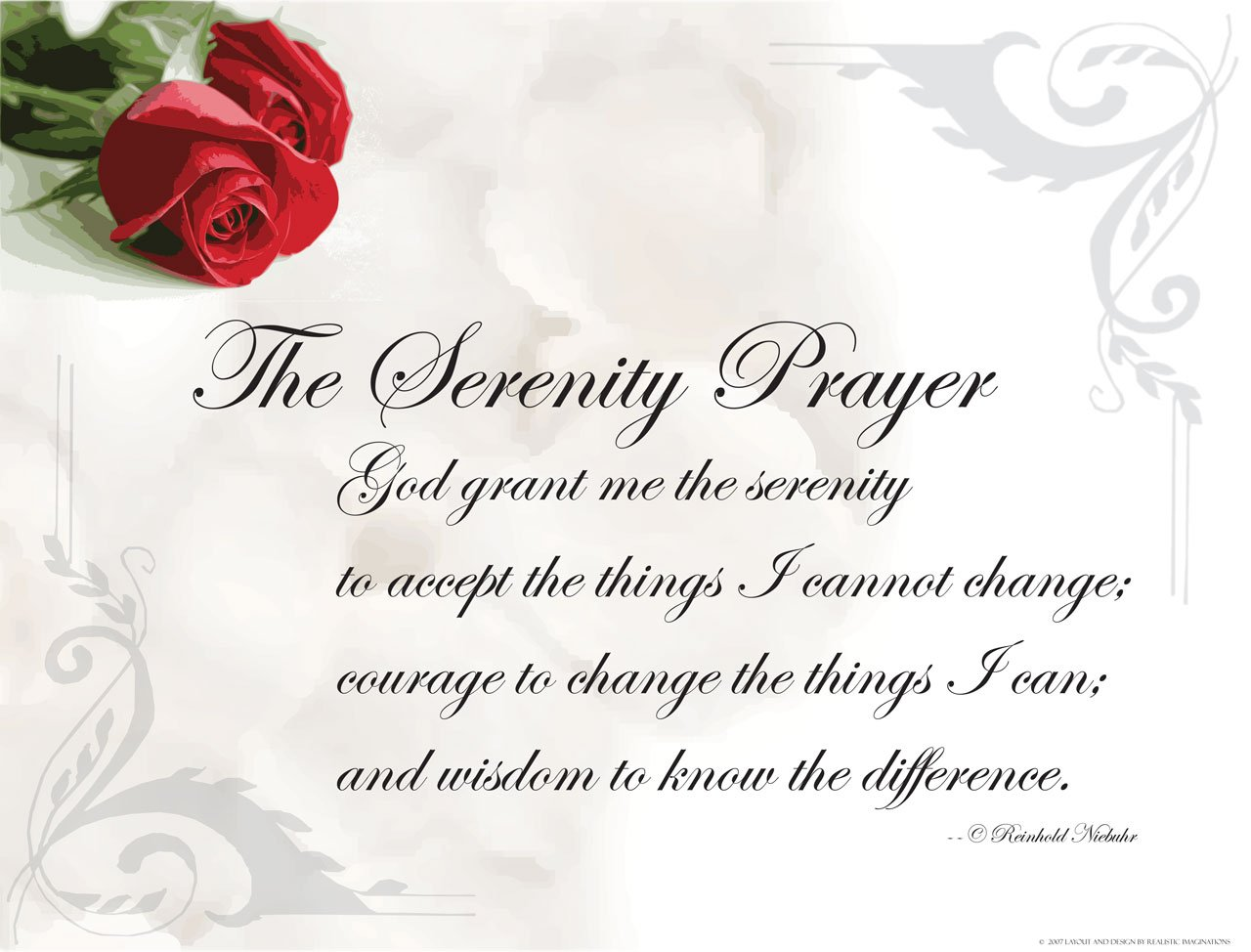 The Serenity Prayer Wallpaper   Christian Wallpapers and Backgrounds 1280x974