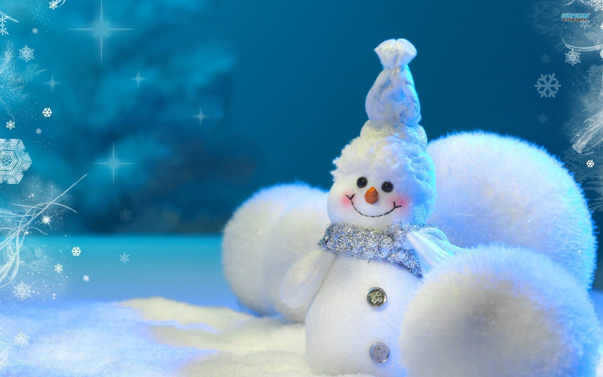 Christmas Snowman Wallpaper High Quality 462   HD 1920x1200