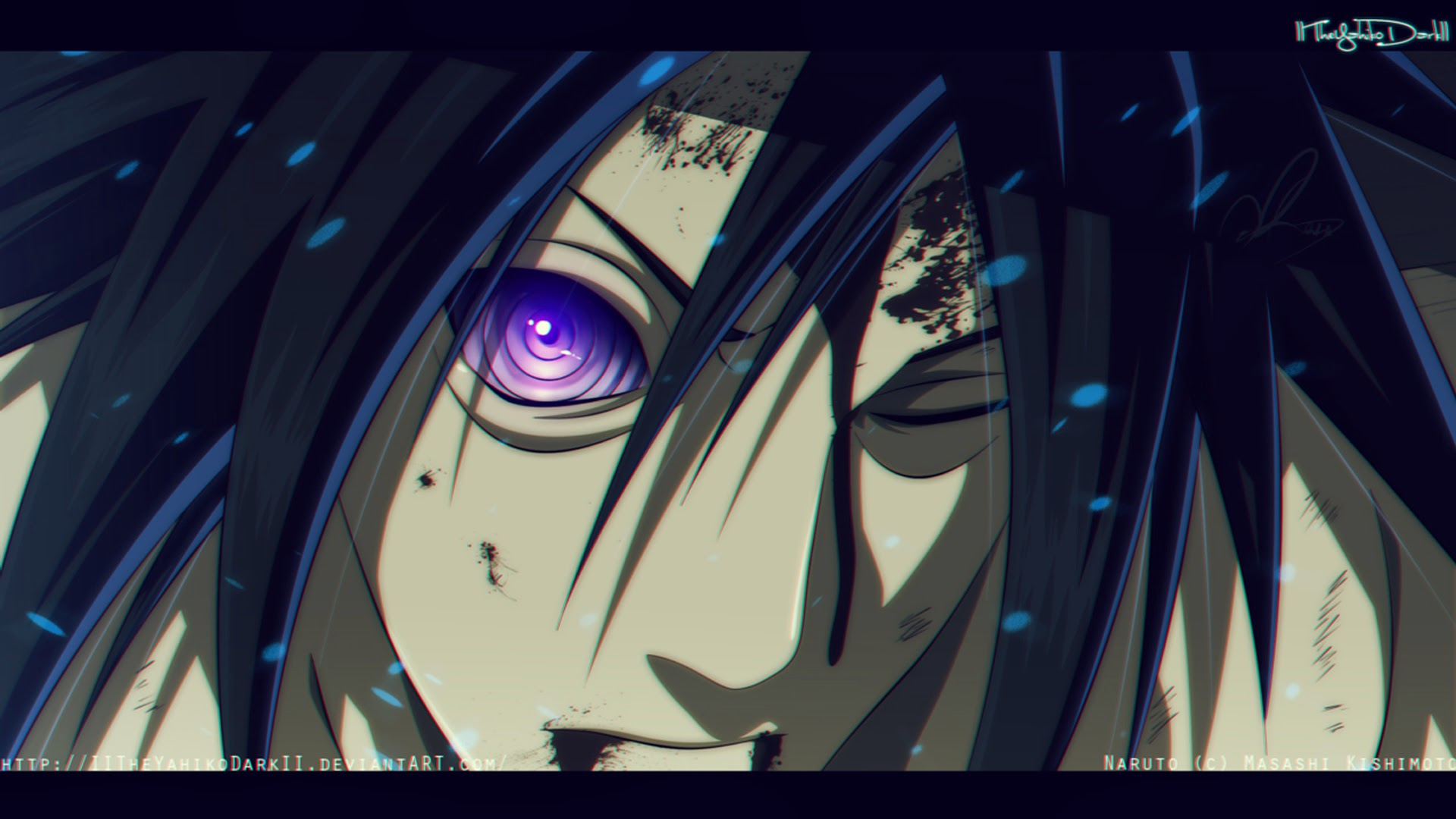 uchiha madara rinnegan rinbo hengoku hd wallpaper 1600x900 74 1920x1080