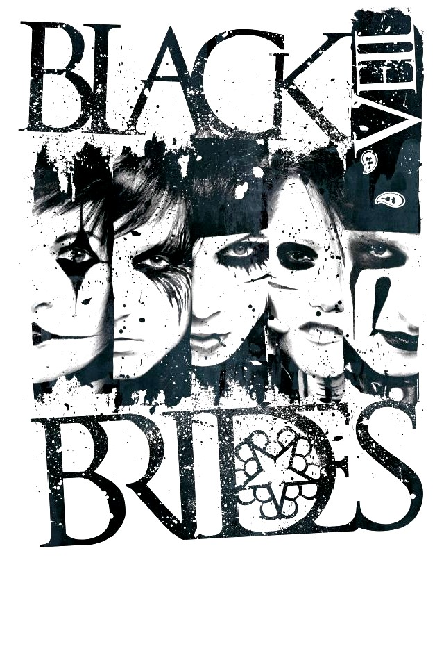 Black Veil Brides Logo Wallpaper iPhone 640x960