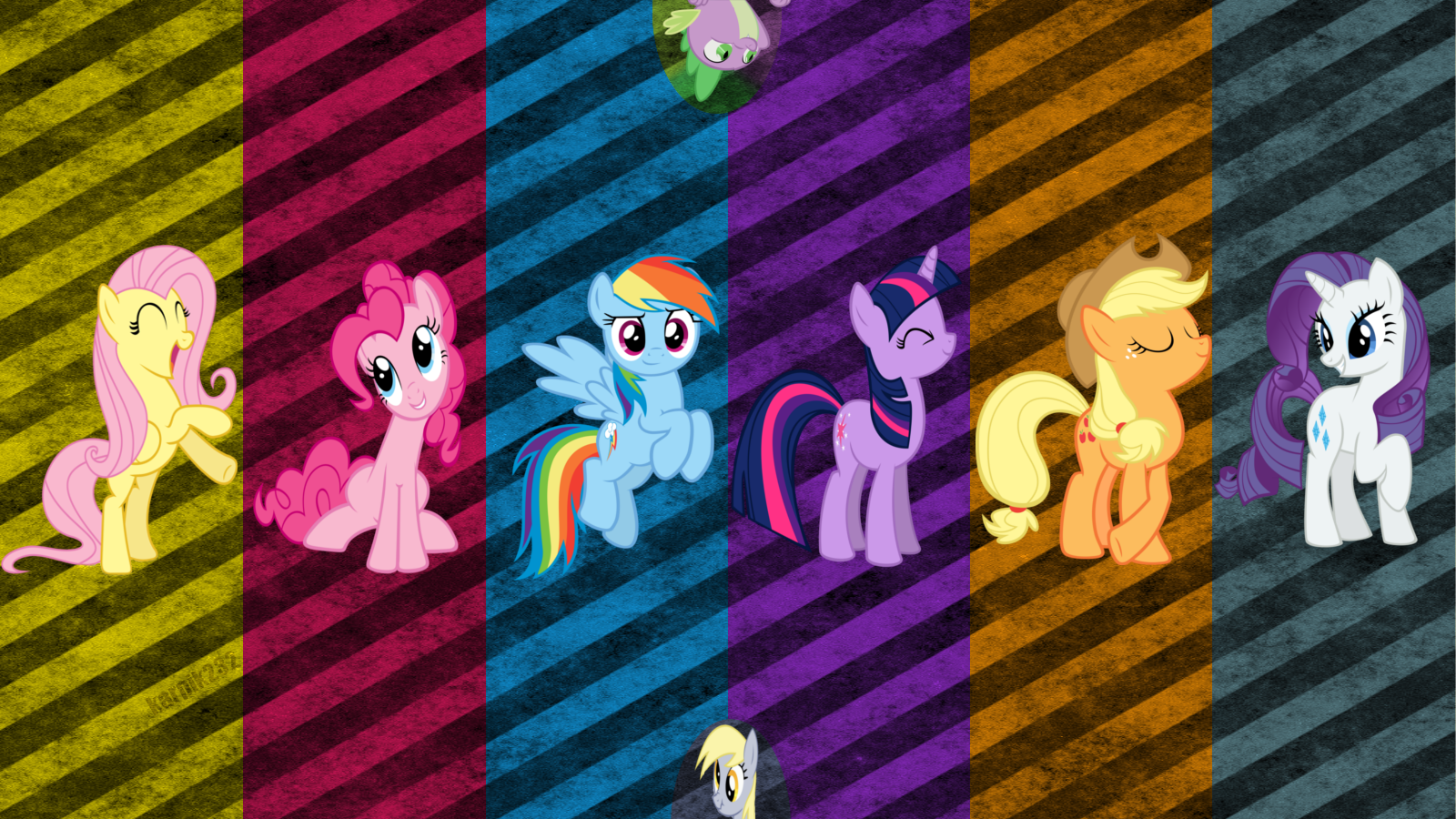 49 My Little Pony Wallpaper Border On