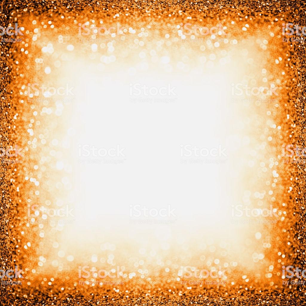 Orange Halloween Or Thanksgiving Border Background Frame Stock 1024x1024