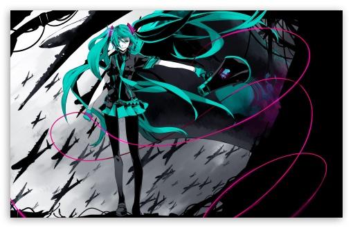 Hatsune Miku Vocaloid HD wallpaper for Standard 43 54 Fullscreen 510x330