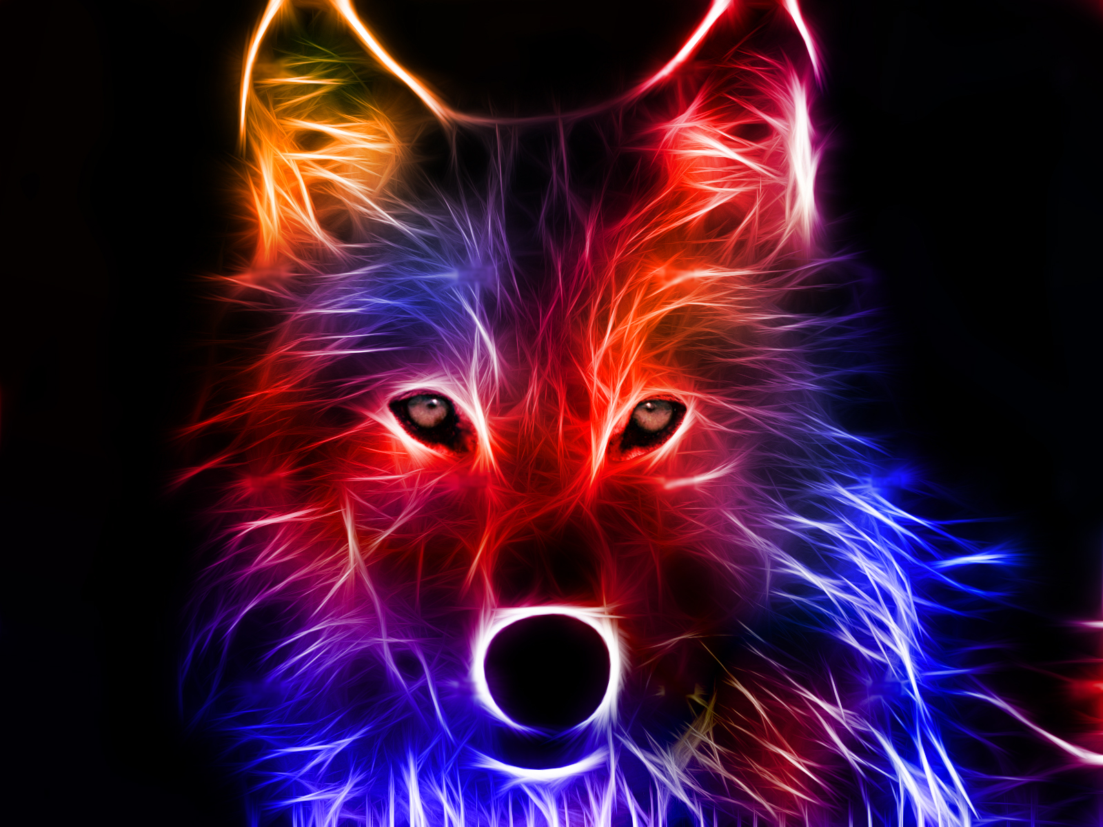 Really Cool Wolf Wallp...