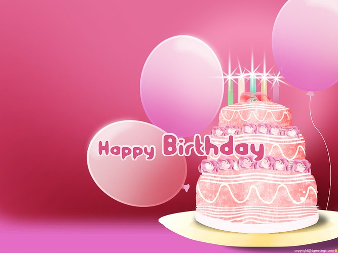 birthday wallpaper happy Birthday wishes wallpaperjpg 667x500