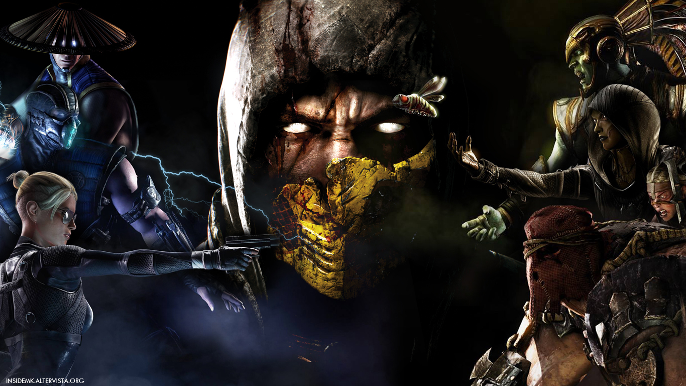 MKX] New Mortal Kombat X Wallpaper By InsideMK Inside Mortal Kombat 1366x768