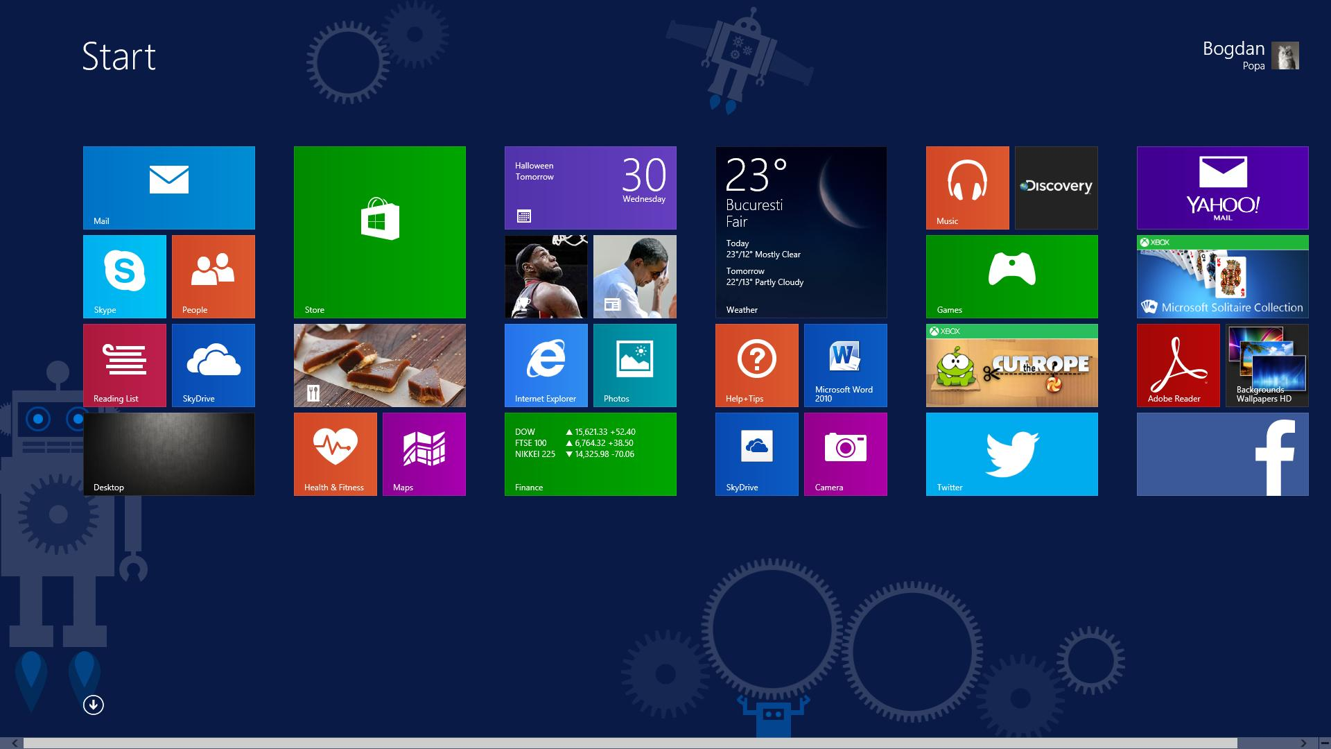 Microsoft Windows 81 Download HD Wallpapers 1920x1080
