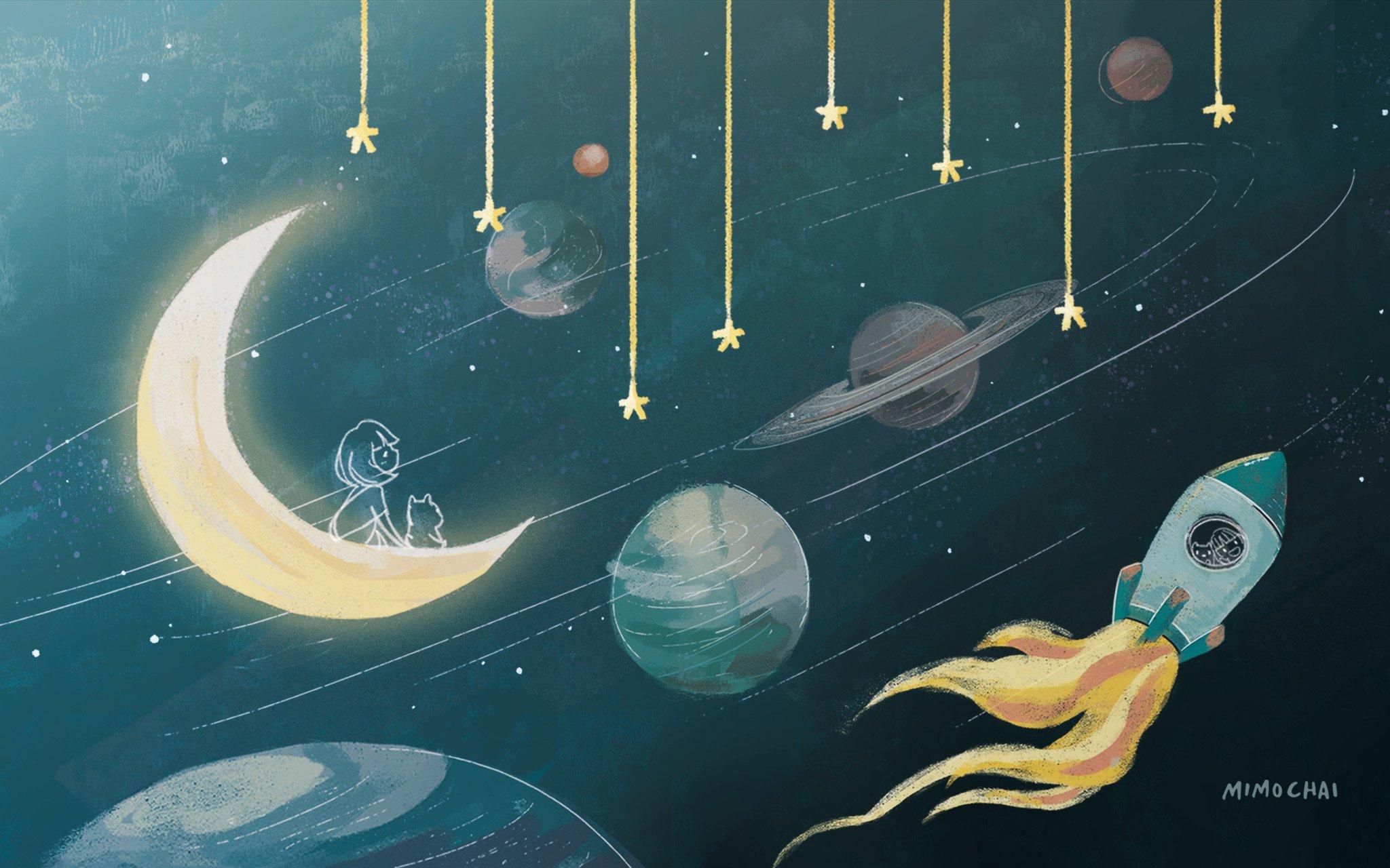 EmmeHSC Space Desktop Wallpaper Download   Mimochai 2048x1280
