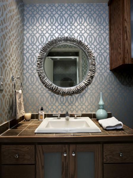 Bathroom Wallpaper 449x600