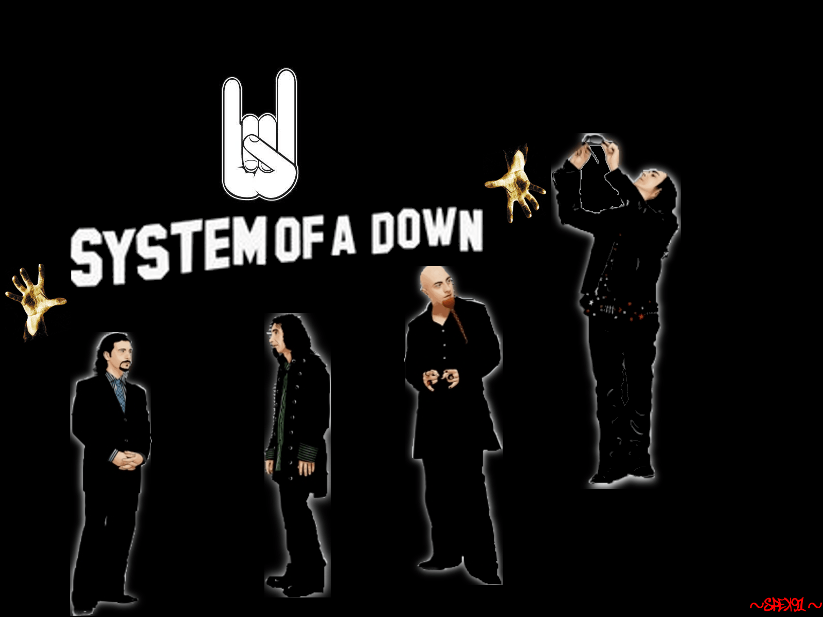 System Of A Down Wallpapers 1600x1200