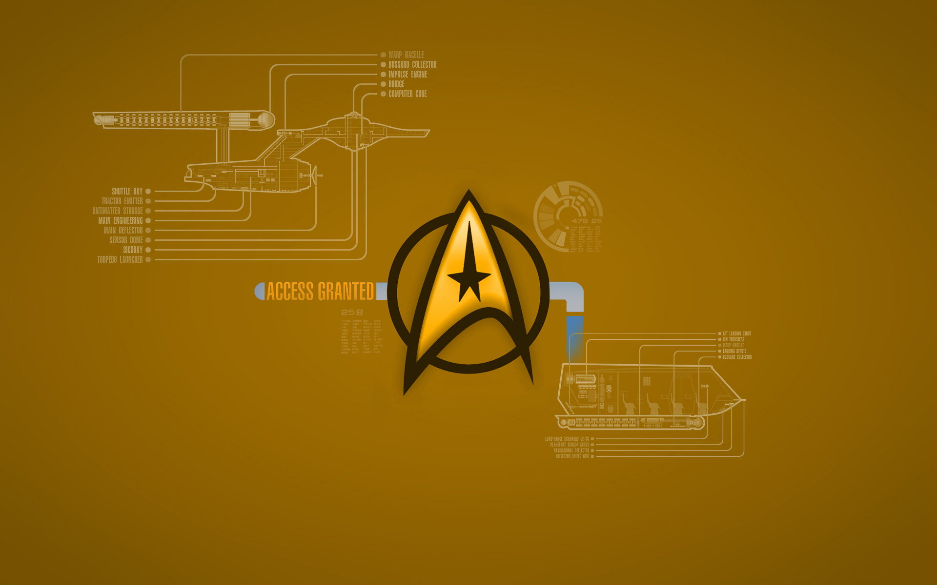 Starfleet logo wallpaper wallpapersafari for Deviantart wallpaper
