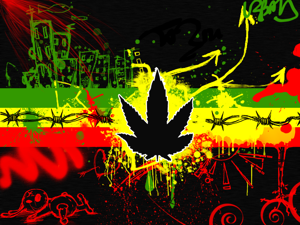 Cool Rasta Backgrounds 1024x768