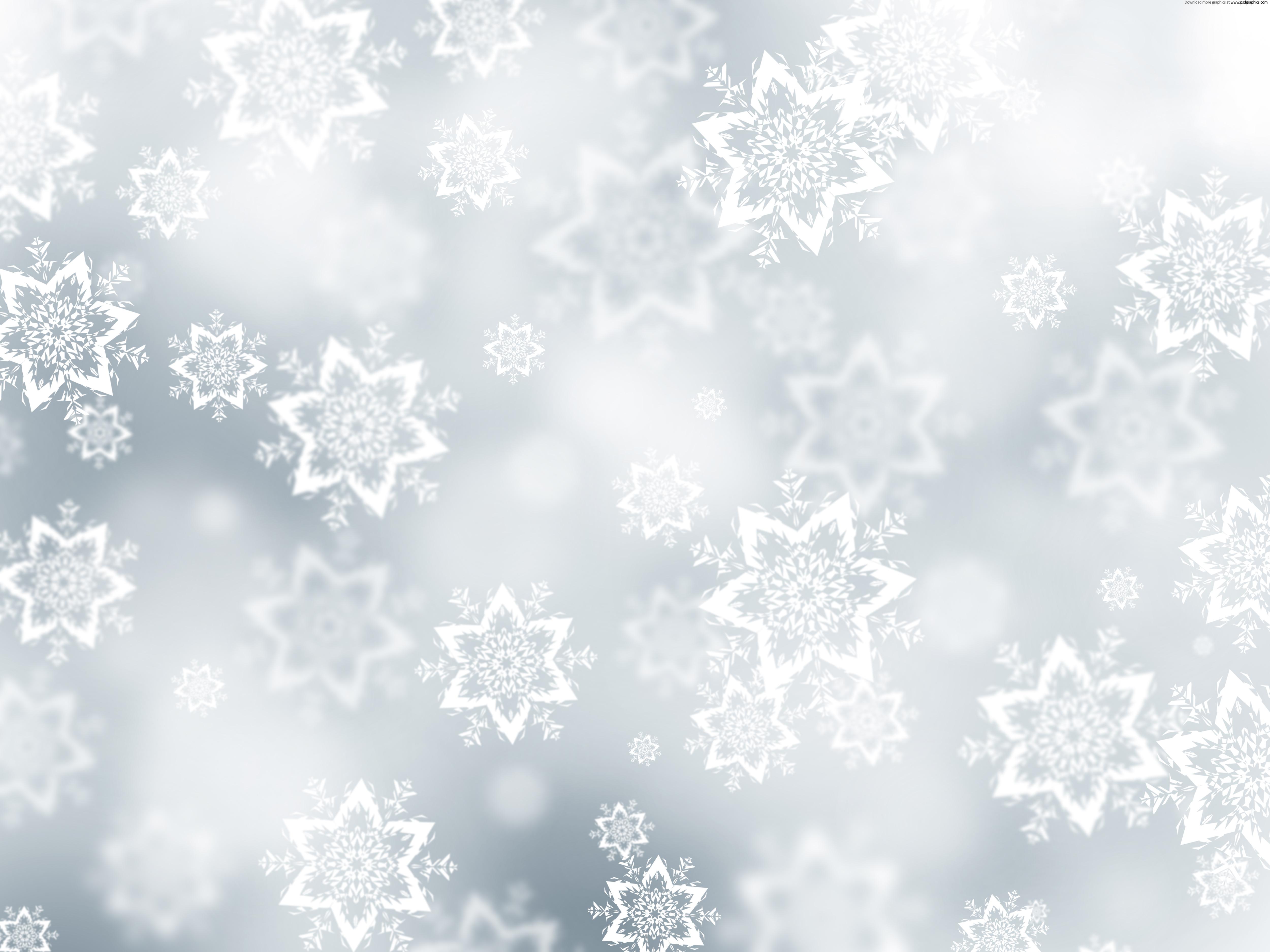 Christmas snow background PSDGraphics 5000x3750