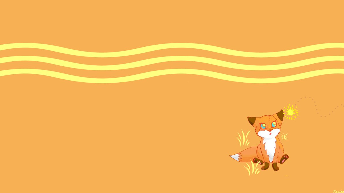 Kawaii Fox Wallpaper Wallpapersafari
