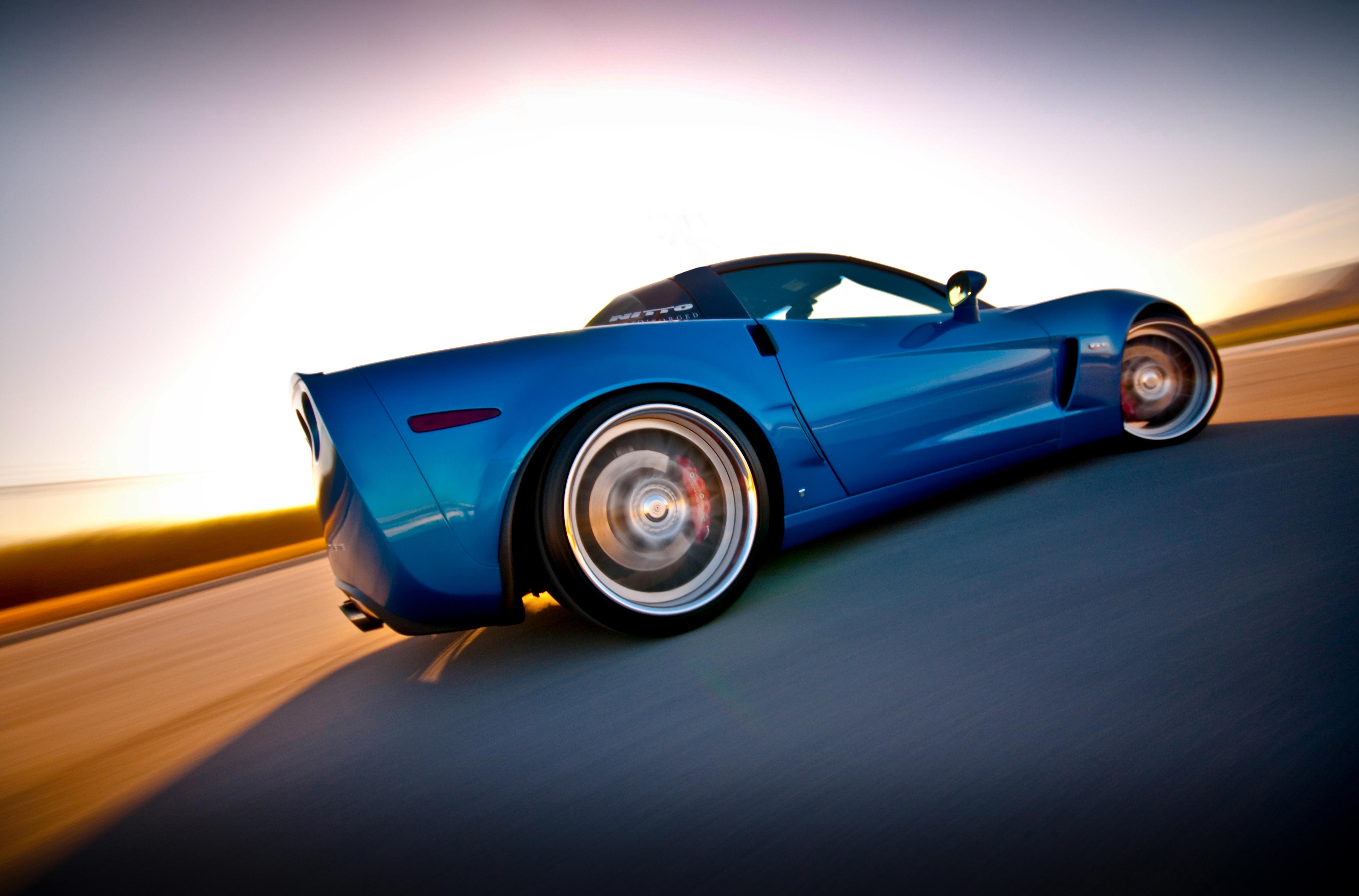 Wallpaper Chevrolet Chevrolet Corvette Corvette C6 Z06 4240x2796