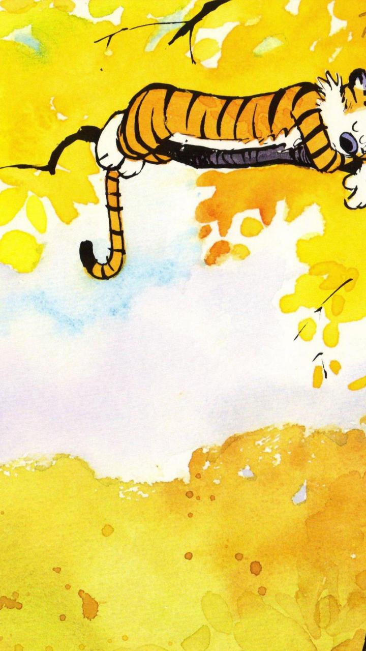 calvin and hobbes HD Wallpaper   General 905287 720x1280