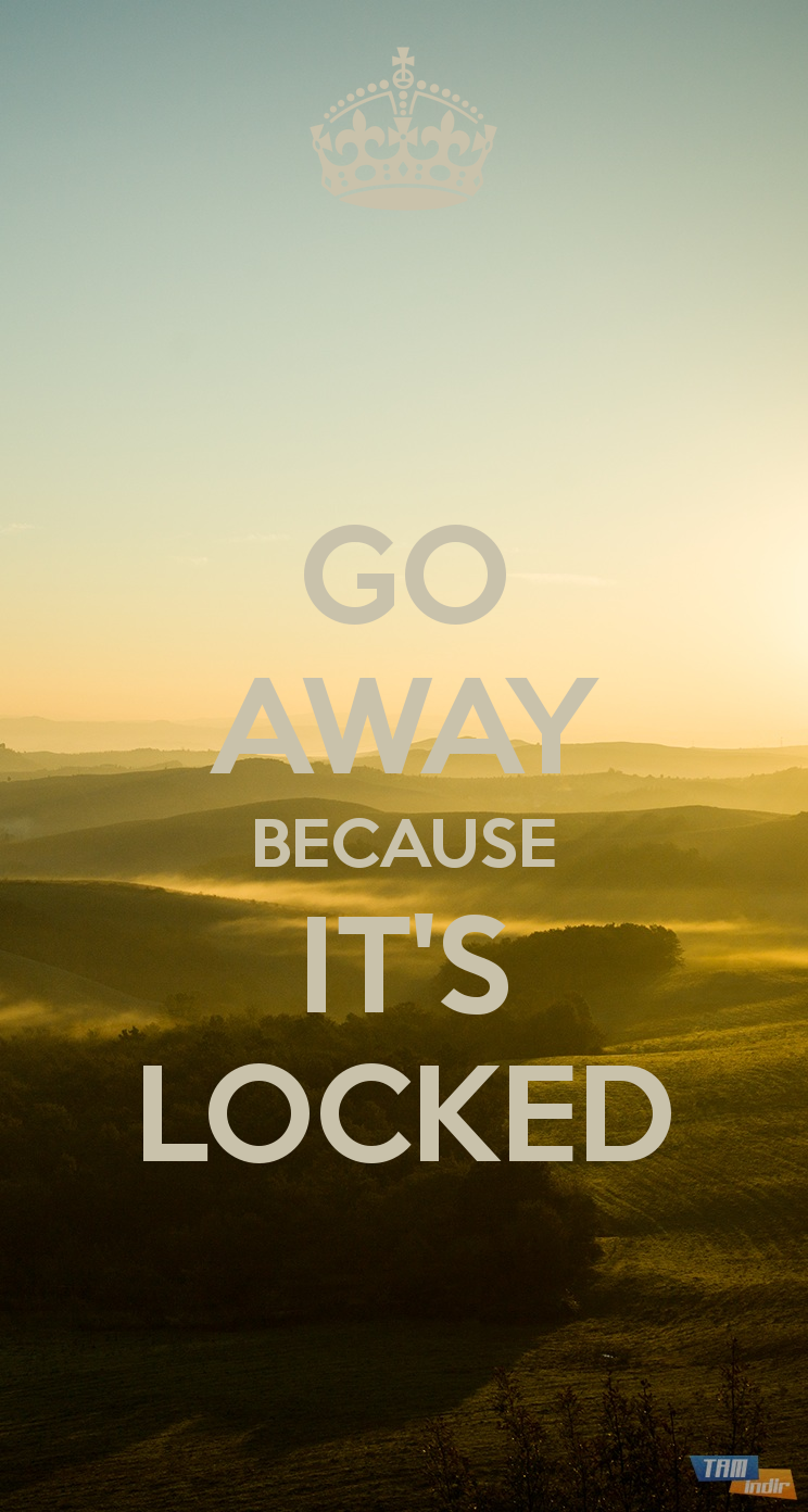 Its Locked Wallpapers 744x1392