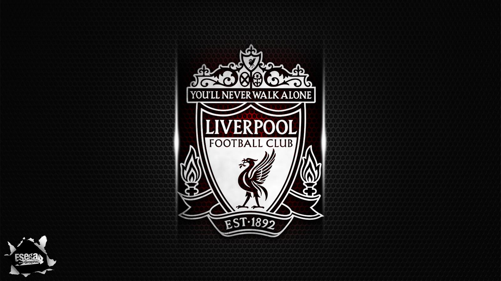 Liverpool FC Black Logo HD 2943 Wallpaper ForWallpaperscom 1600x900