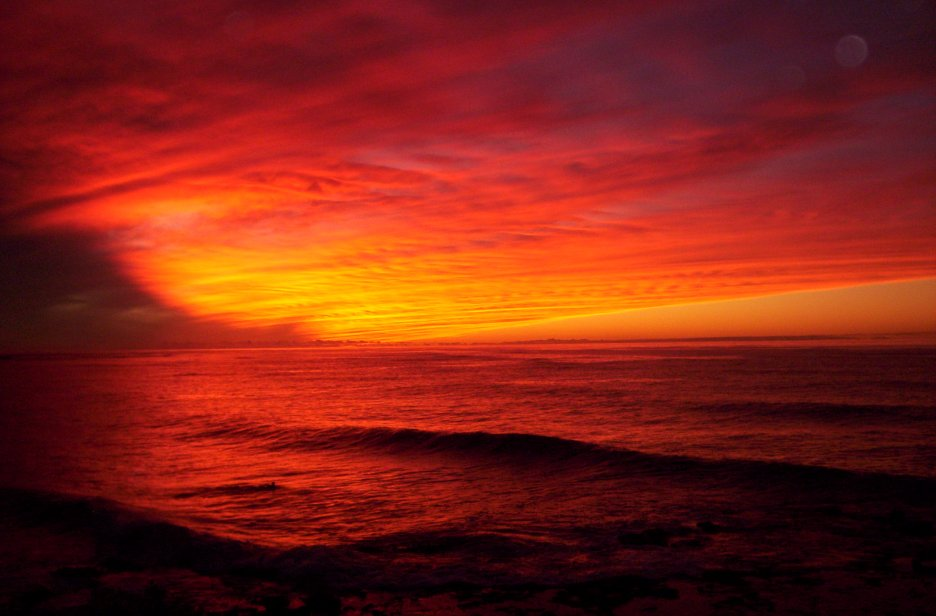 Hawaii Beach Sunset Wallpaper