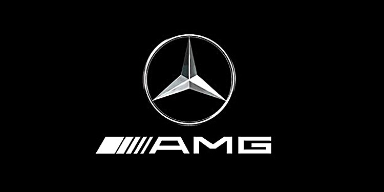 AMG Logo Wallpaper 750x375