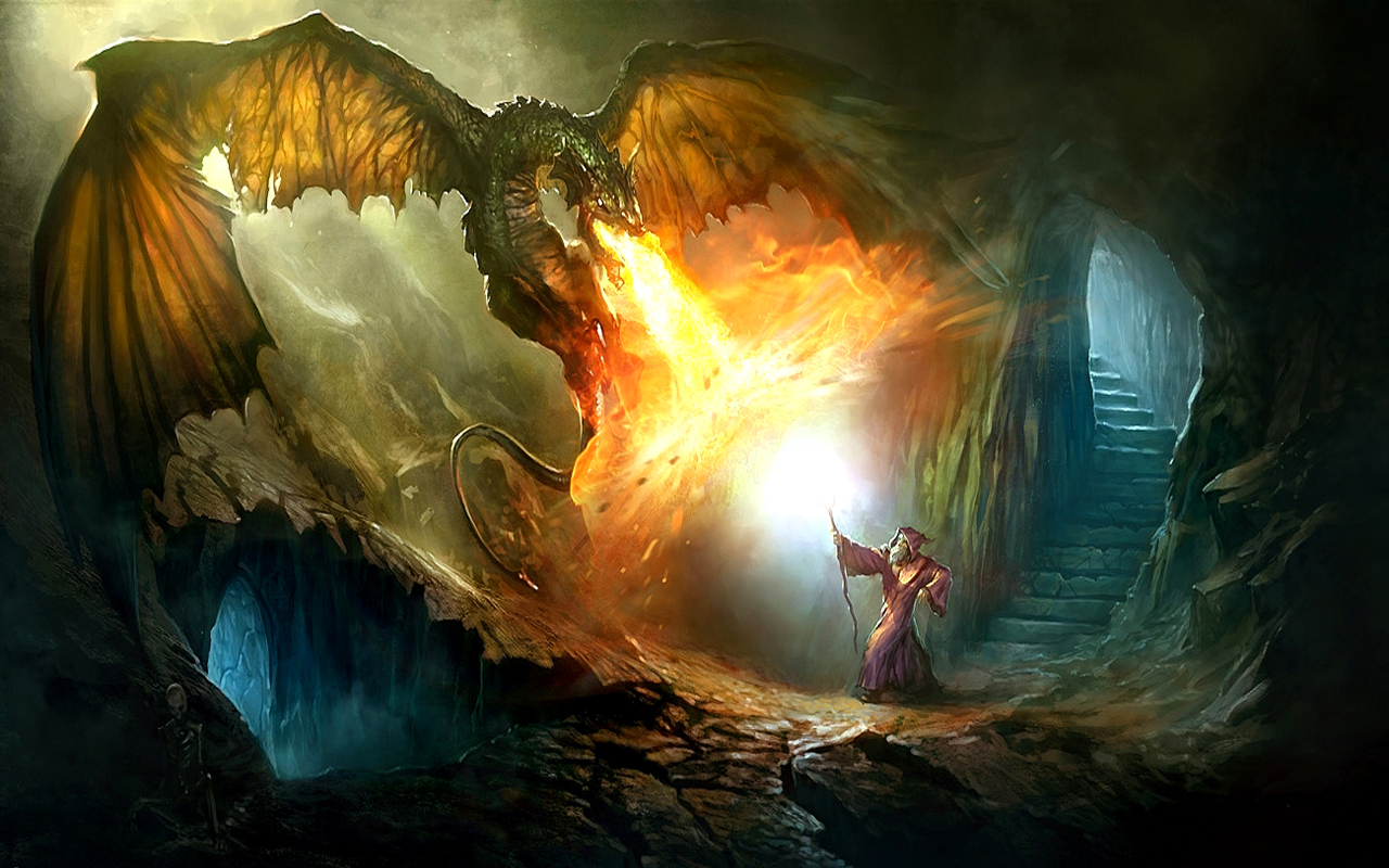 Dragon Wallpapers And Backgrounds  WallpaperSafari