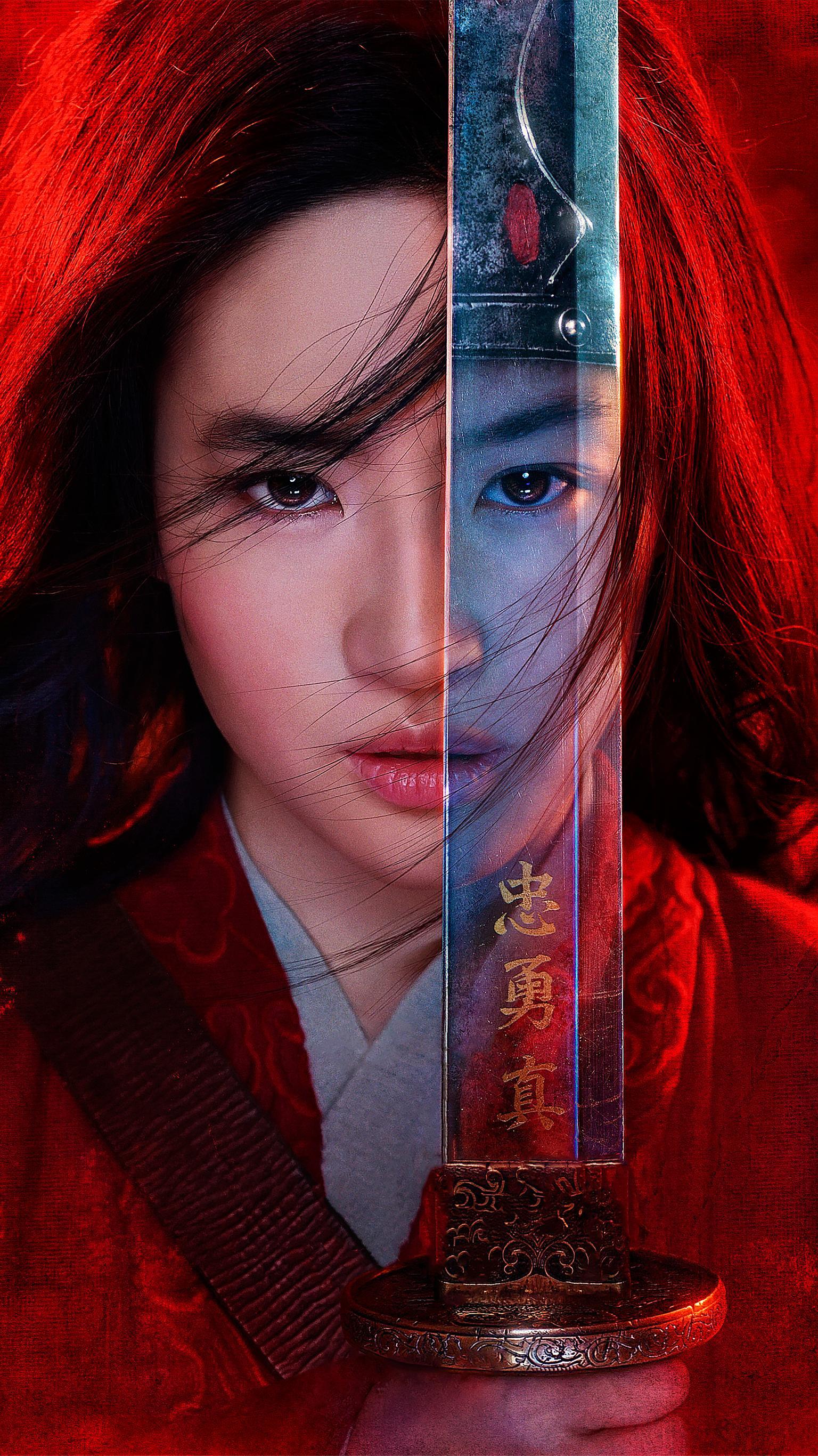 Mulan 2020 Phone Wallpaper Moviemania 1536x2732