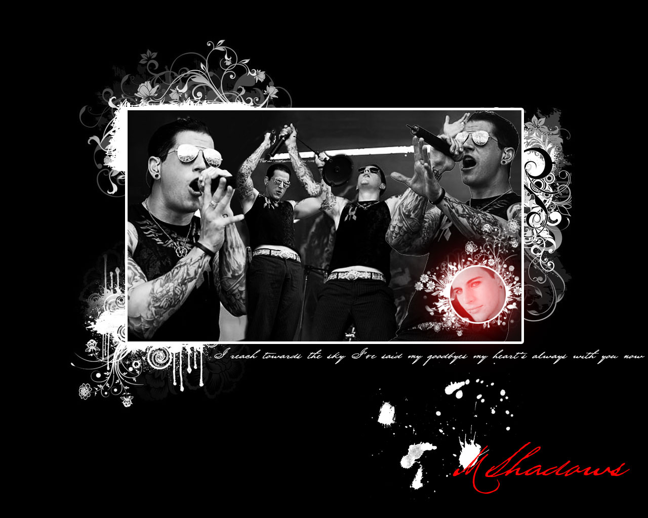 M Shadows Wallpaper by dreamyvale 1280x1024