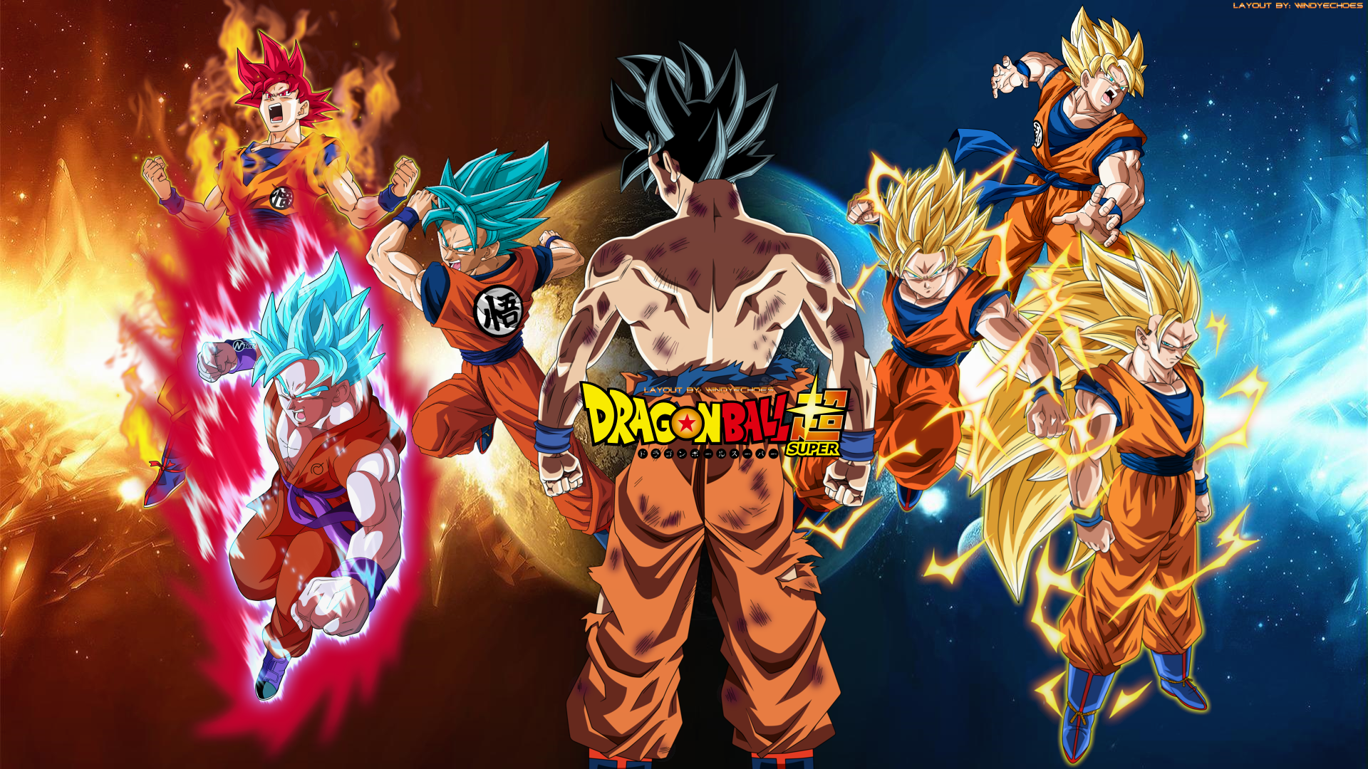 Free Download Goku All Transformations Tournament Of Power 2017 By