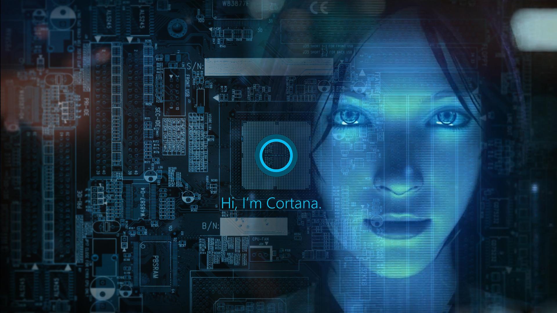 43] Microsoft Cortana Wallpaper on WallpaperSafari 1920x1080