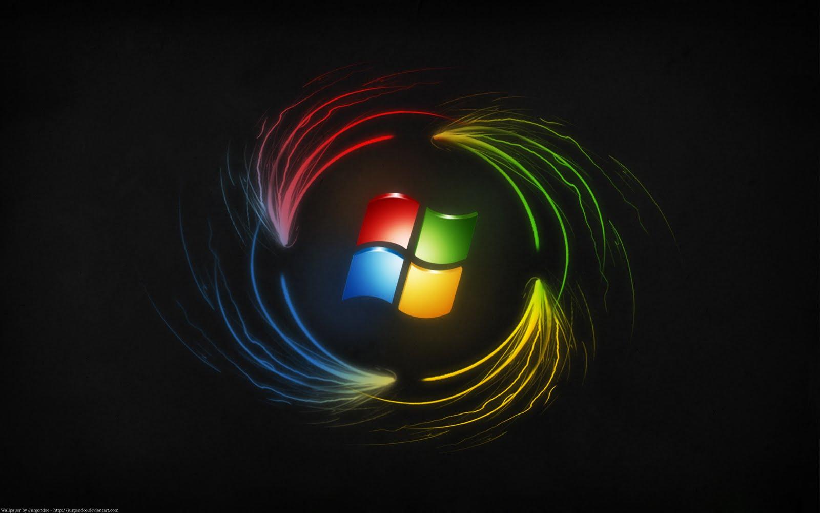 Best Black Windows 8 Wallpaper for Dekstop 1600x1000