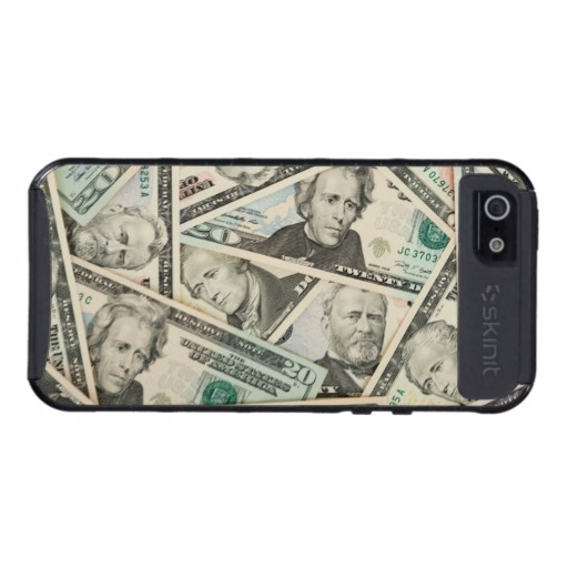 American dollar bills money wallpaper background case for iPhone 5 512x512