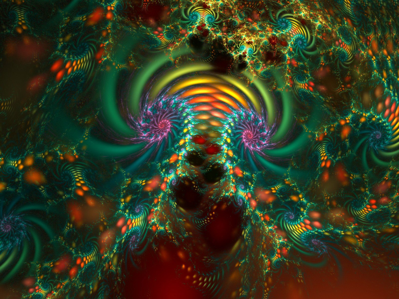 fractal wallpaper background 1600x1200