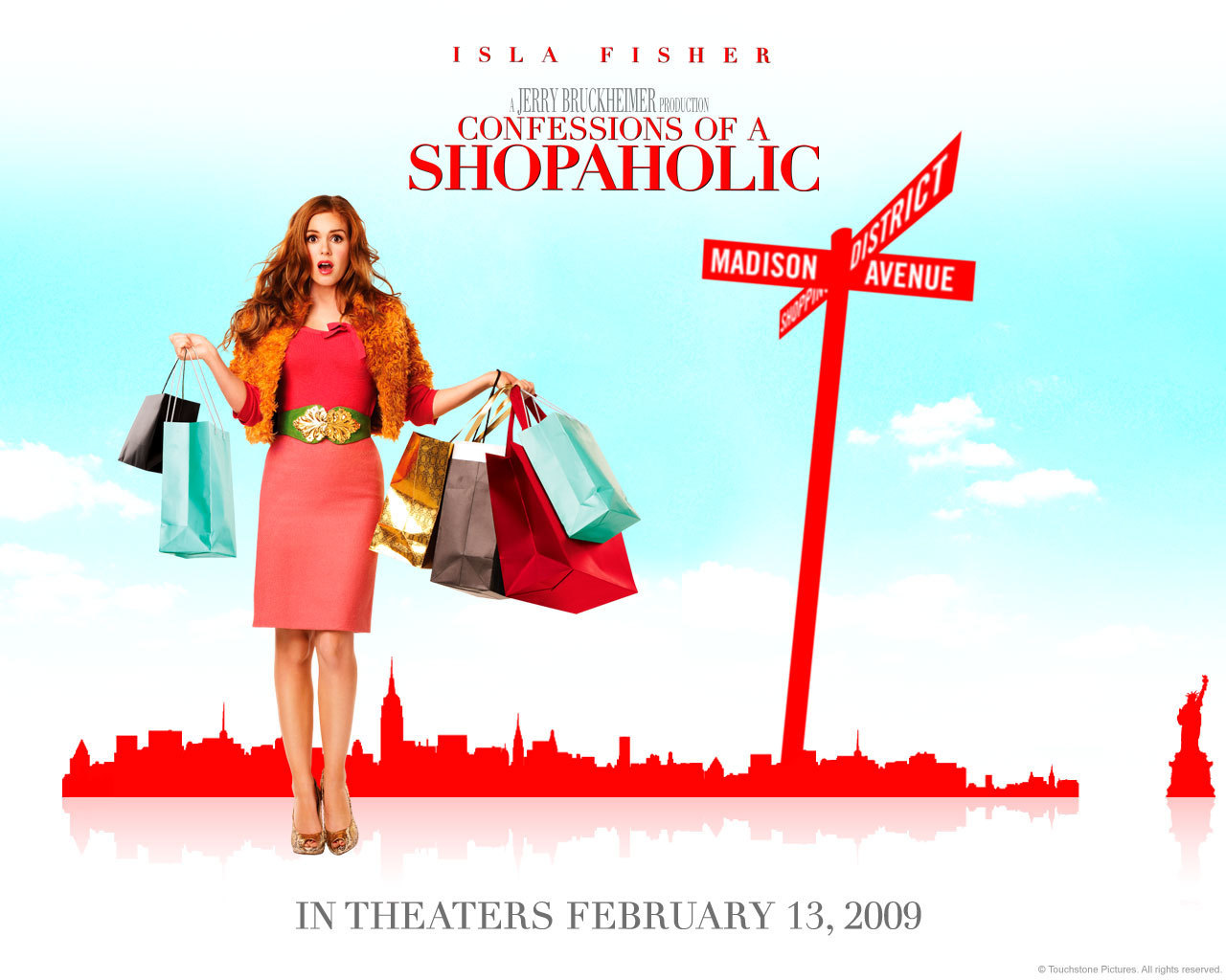 Shopaholic Wallpaper   Confessions of a Shopaholic Movie Wallpaper 1280x1024