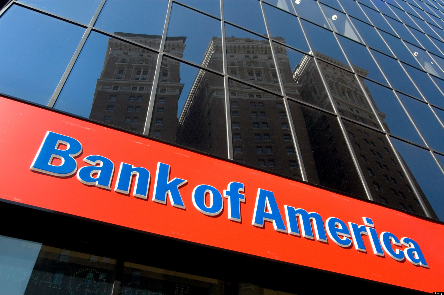 BANK OF AMERICA SIGN ON BRANCH MIDTOWN MANHATTAN NEW YORK CITY 1536x1021