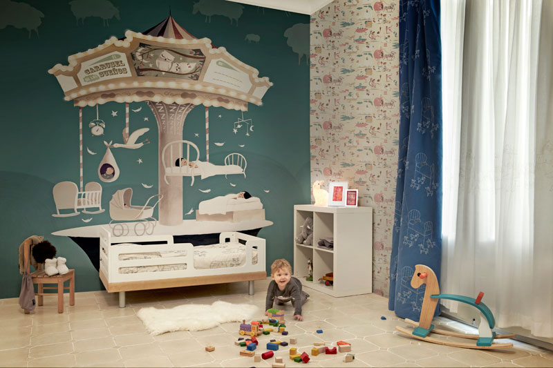 Artistic Wallpapers For Kids Rooms DigsDigs 800x533