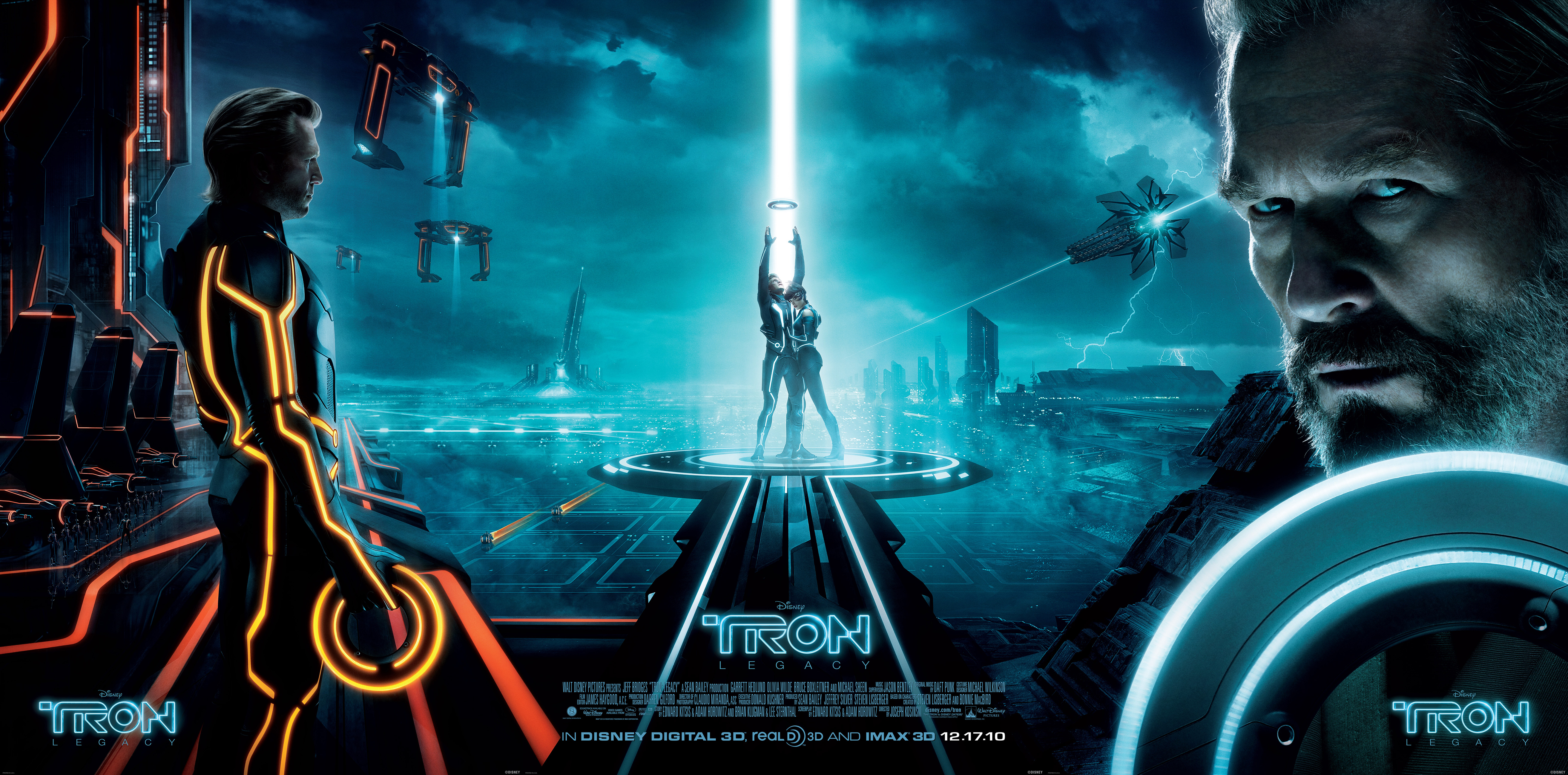 Tron Legacy Extra Large wallpapers 1 Hi Res Wallpapers 5250x2593