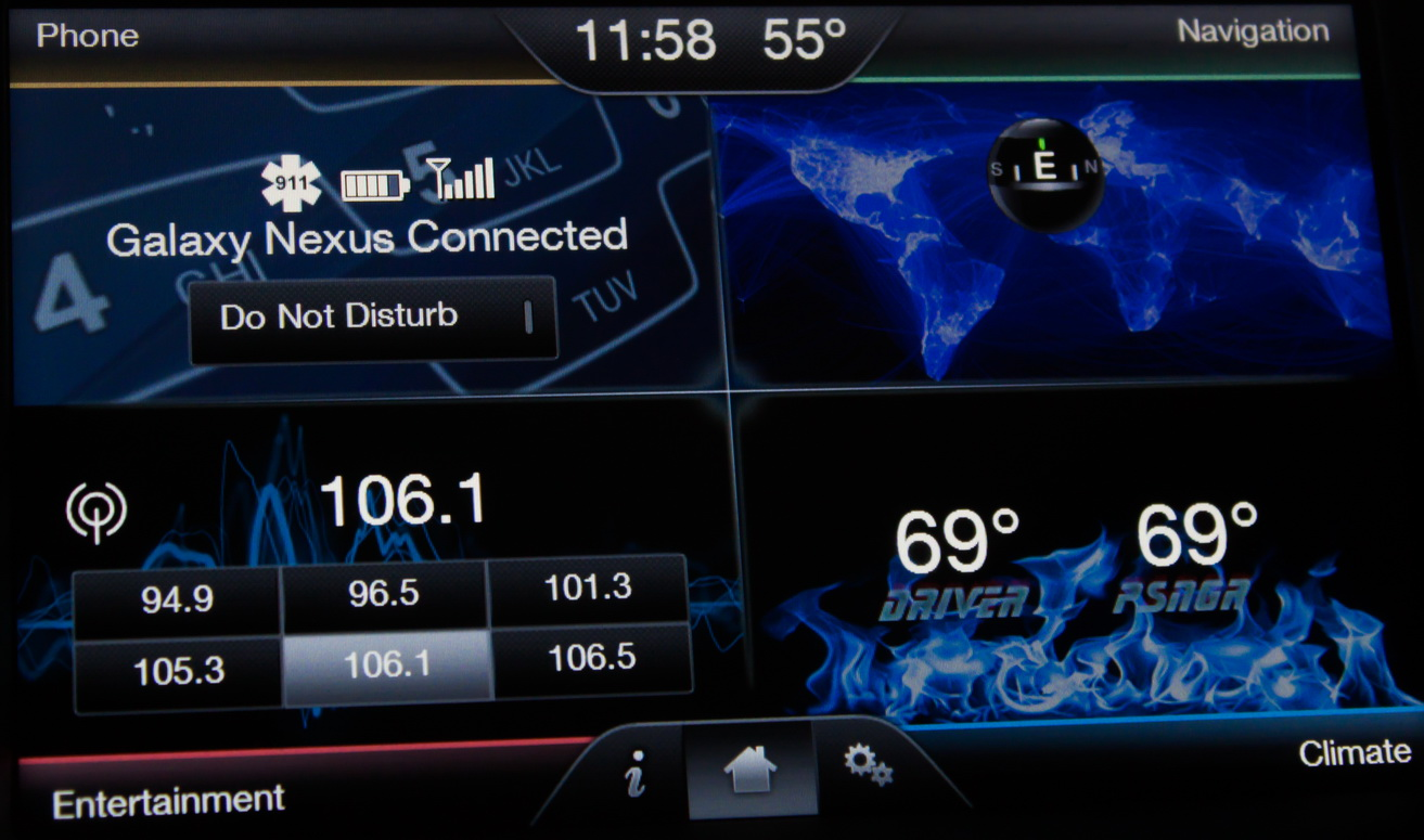 Ford SYNC Touch Wallpaper ford mft wallpaper size   JohnyWheels 1313x775