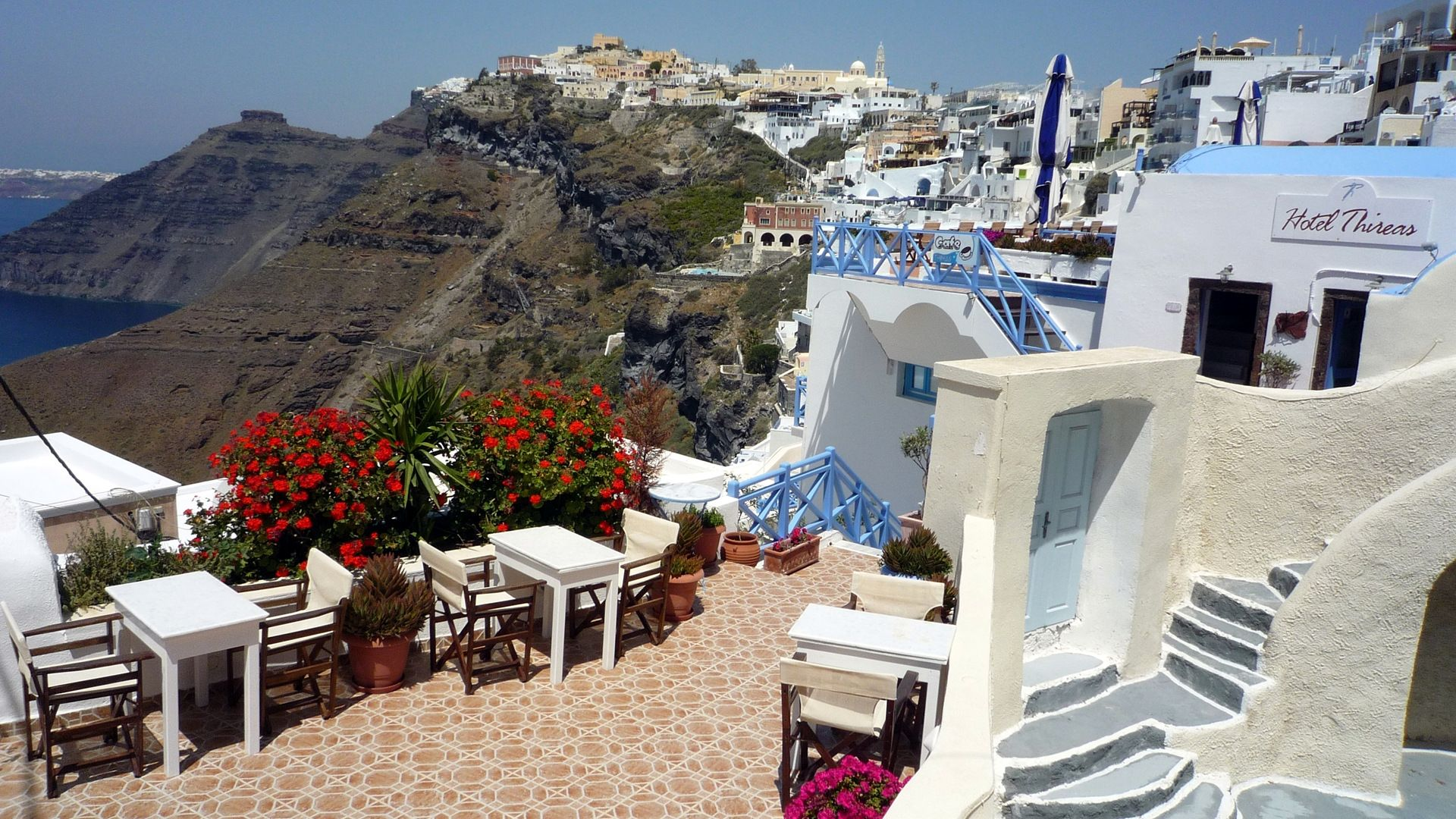 Santorini Greece Wallpaper Greece Desktop Wallpapers 1920x1080 1920x1080
